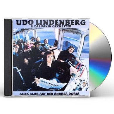 Udo Lindenberg ALLES KLAR AUF DER ANDREA DORIA CD
