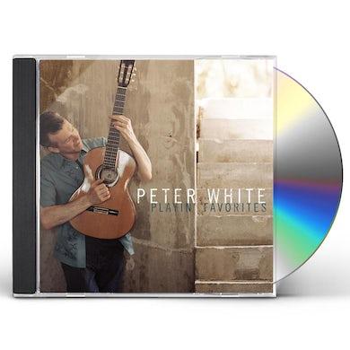 Peter White PLAYIN FAVOURITES CD