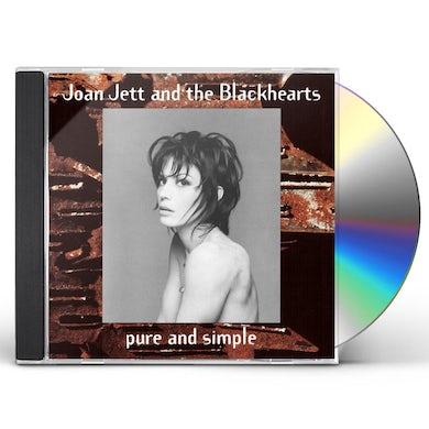 Joan Jett & The Blackhearts PURE & SIMPLE CD