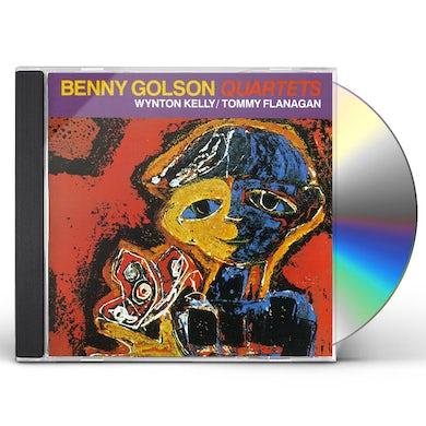 Benny Golson QUARTETS - WITH WYNTON KELLY / TOMMY FLANAGAN CD