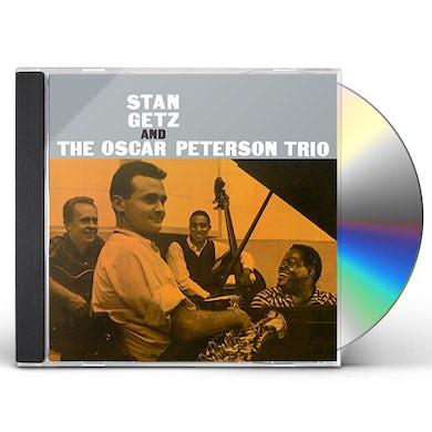 STAN GETZ & THE OSCAR PETERSON TRIO CD