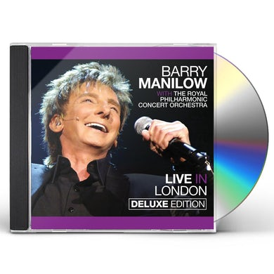 Barry Manilow LIVE IN LONDON CD