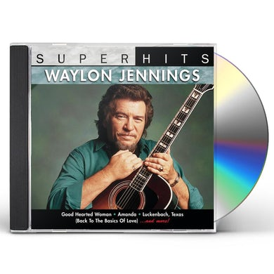 Waylon Jennings SUPER HITS CD