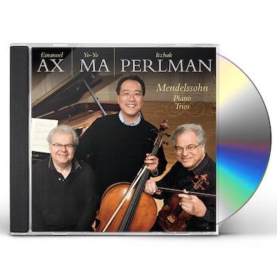 Yo-Yo Ma MENDELSSOHN: PIANO TRIOS OP 49 OP 66 CD