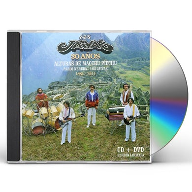 Los Jaivas ALTURAS DE MACCHU PICCHU CD