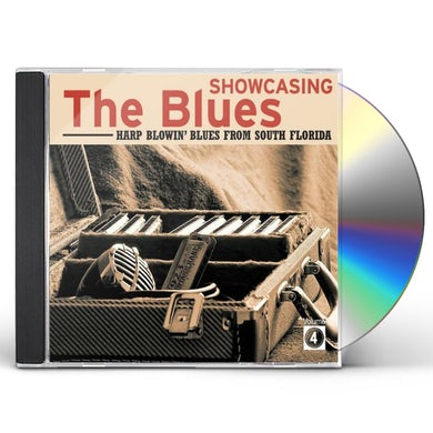 Compilation SHOWCASING THE BLUES VOL. 4 CD