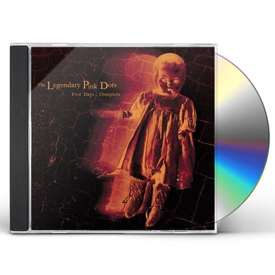 The Legendary Pink Dots FIVE DAYS...COMPLETE CD