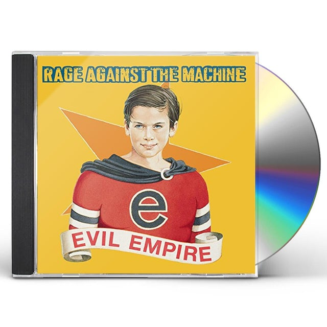 Rage Against The Machine EVIL EMPIRE (GOLD SERIES) CD