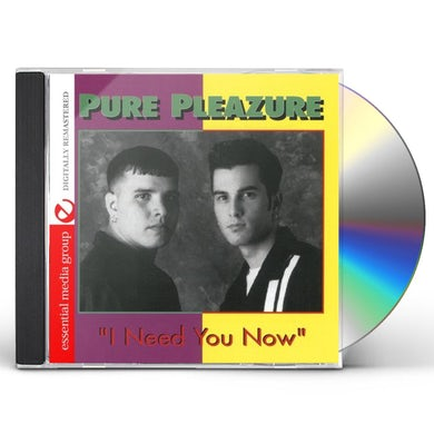 I NEED YOU NOW CD