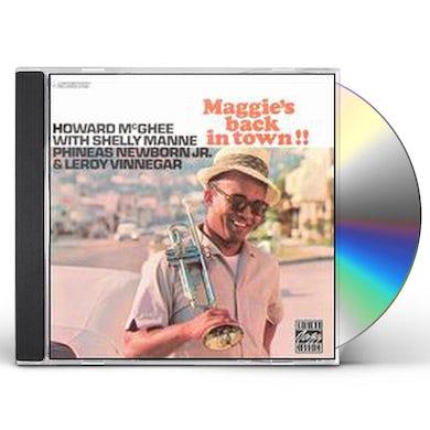 Howard Mcghee MAGGIE'S BACK IN TOWN CD