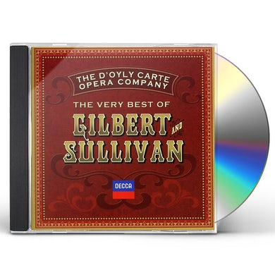 D'Oyly Carte Opera Company VERY BEST OF GILBERT & SULLIVAN CD