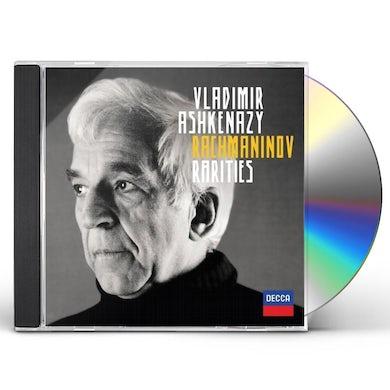 Vladimir Ashkenazy RACHMANINOFF RARITIES CD