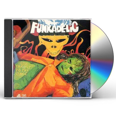 Funkadelic LET'S TAKE IT TO STAGE CD
