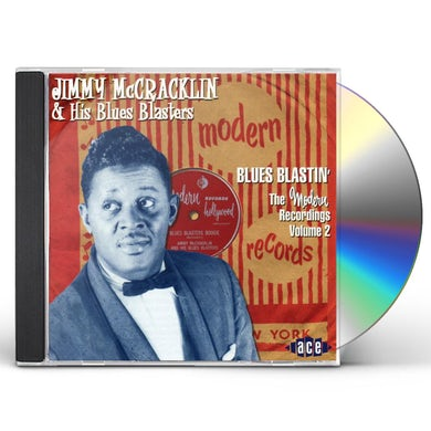 Jimmy Mccracklin MODERN RECORDINGS 2: BLUES BLASTIN CD