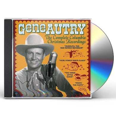 Gene Autry COMPLETE COLUMBIA CHRISTMAS RECORDINGS CD