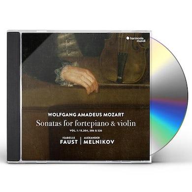 Mozart: Sonatas For Fortepiano & Violin Vol. 1 CD