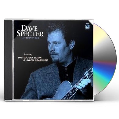 Dave Specter LEFT TURN ON BLUE CD