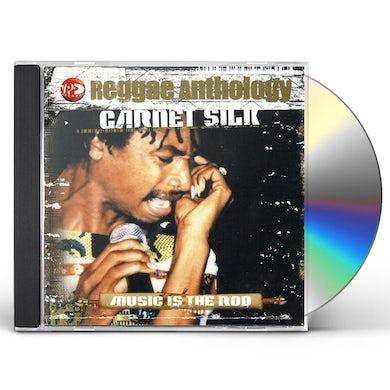 Garnett Silk REGGAE ANTHOLOGY: MUSIC IS THE ROD CD