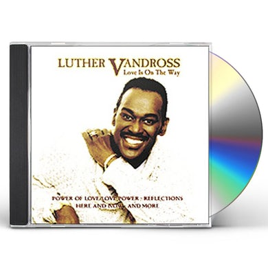 Luther Vandross LOVE IS ON THE WAY CD