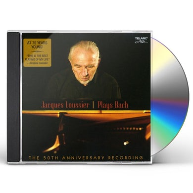 Jacques Loussier PLAYS BACH: THE 50TH ANNIVERSARY RECORDING CD