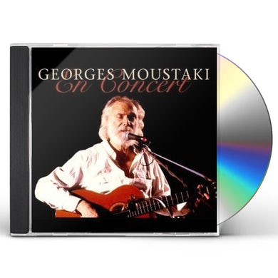 Georges Moustaki EN CONCERT CD