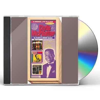 Clyde Mcphatter ATLANTIC & MERCURY SESSIONS CD