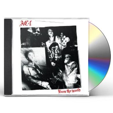 Ac4 BURN THE WORLD CD