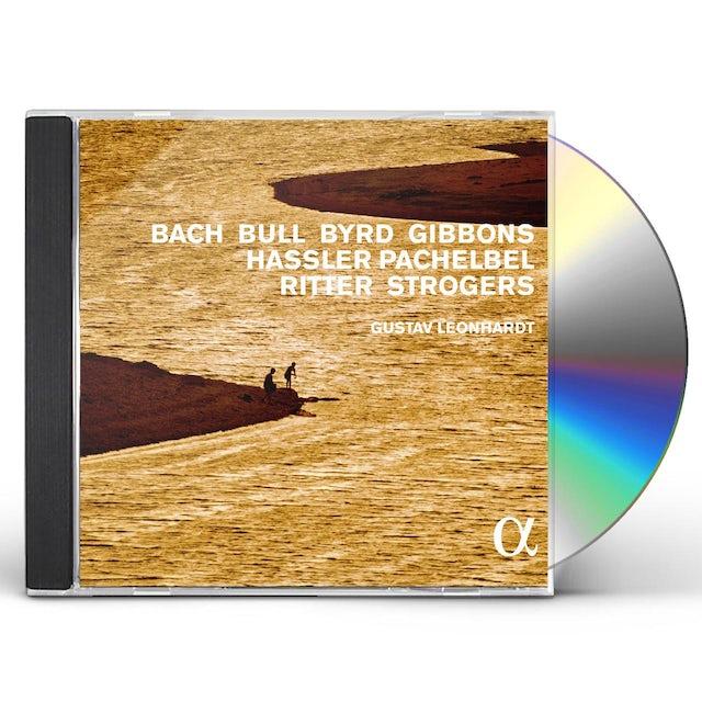 Gustav Leonhardt HARPSICHORD MUSIC BY BACH BULL BYRD GIBBONS HASSLE CD