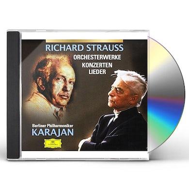 Herbert Von Karajan  R.STRAUSS: WORKS CD
