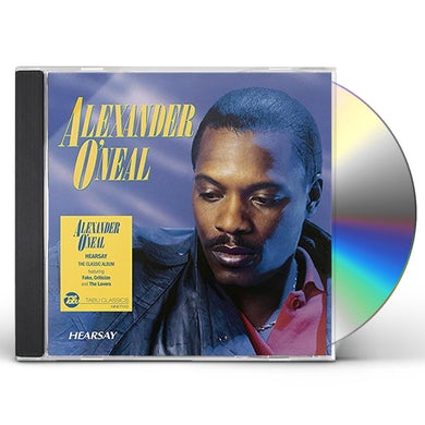 Alexander O'Neal HEARSAY CD