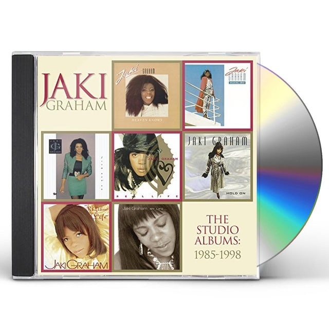Jaki Graham STUDIO ALBUMS 1985-1998 CD