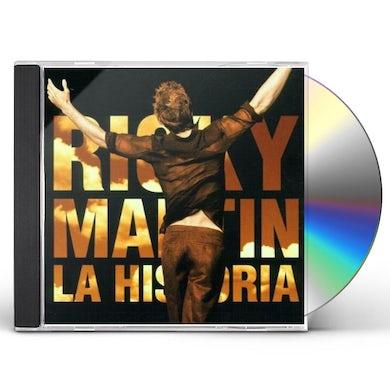 Ricky Martin HISTORIA CD