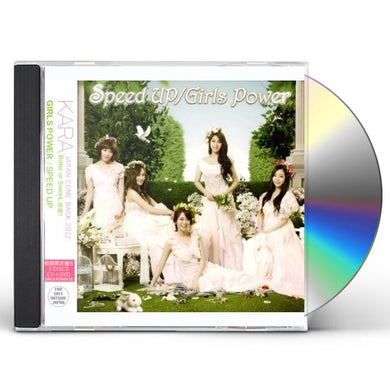 KARA SPEED UP/GIRLS POWER /ALTERNETIVE COVER CD
