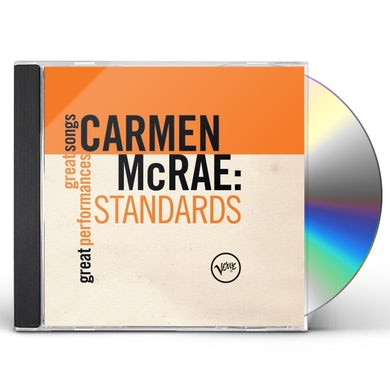Carmen McRae STANDARDS: GREAT SONGS/GREAT PERFORMANCES CD