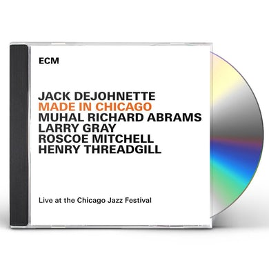 Jack DeJohnette MADE IN CHICAGO CD