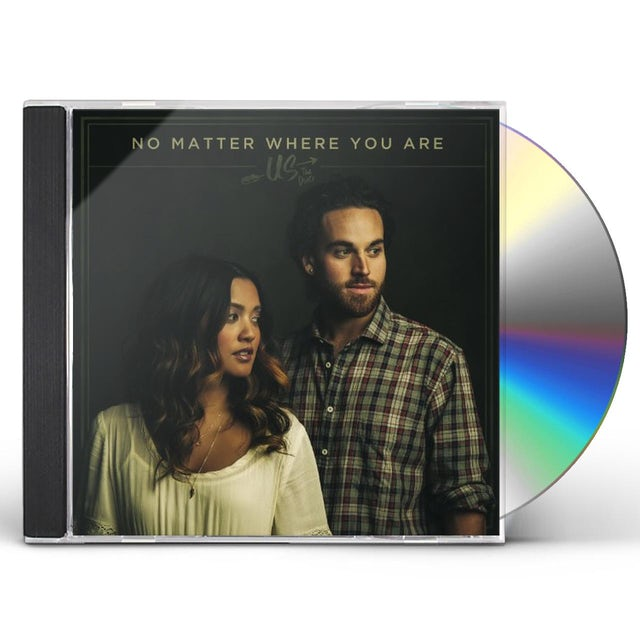 Us The Duo NO MATTER WHERE YOU ARE CD