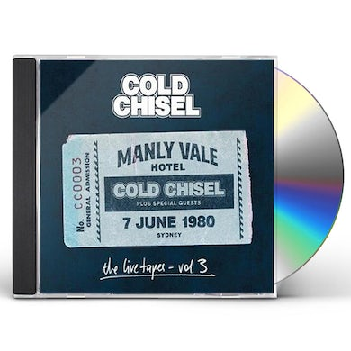 Cold Chisel LIVE TAPES 3: LIVE AT THE MANLY VALE HOTEL SYDNEY CD