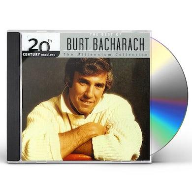 Burt Bacharach 20TH CENTURY MASTERS CD