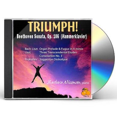Barbara Nissman TRIUMPH: BEETHOVEN SONATA CD