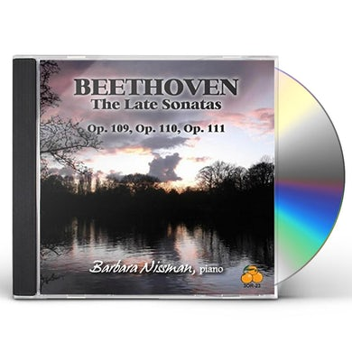 Barbara Nissman BEETHOVEN: THE LATE SONATAS CD