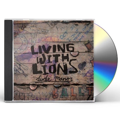 Living With Lions DUDE MANOR CD