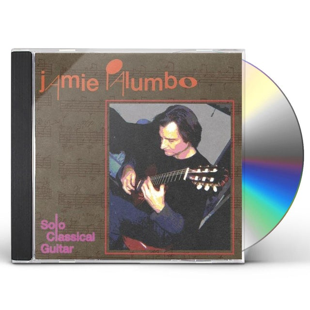 Jamie Palumbo SOLO CLASSICAL GUITAR CD