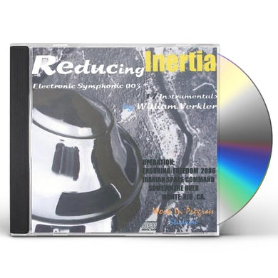 William Verkler REDUCING INERTIA CD