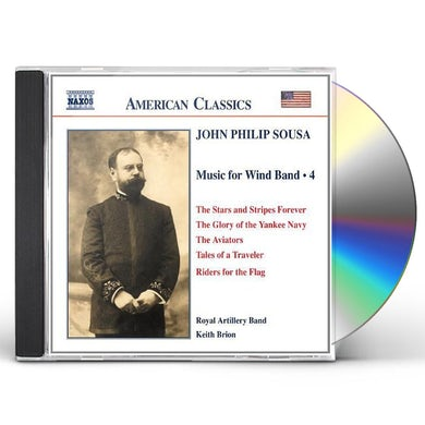 John Philip Sousa MUSIC FOR WIND BAND 4 CD