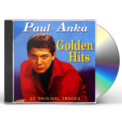 PAUL ANKA GOLDEN HITS CD