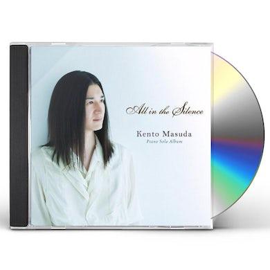 Kento Masuda ALL IN THE SILENCE CD