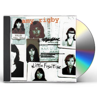 Amy Rigby LITTLE FUGITIVE CD