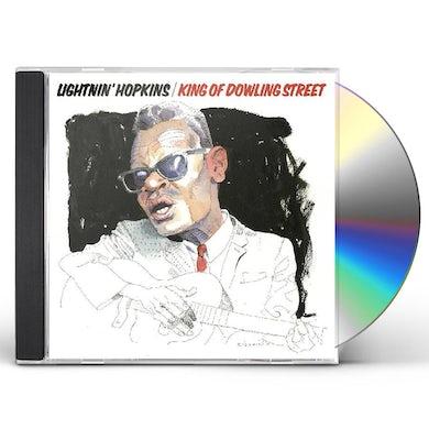 Lightnin Hopkins KING OF DOWLING STREET CD