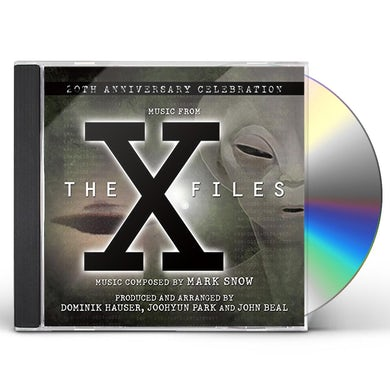 John Beal X-FILES: A 20TH ANNIVERSARY CELEBRATION CD
