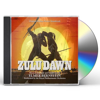 Elmer Bernstein ZULU DAWN - Original Soundtrack CD